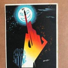 Postales: FALLAS DE VALENCIA, MARZO DE 1953, LIT. ORTEGA, VALENCIA, ILUSTR.: RAGA. Lote 96581576
