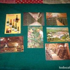 Postales: 7 POSTALES PUBLICITARIAS DE CODORNIU. Lote 96715895