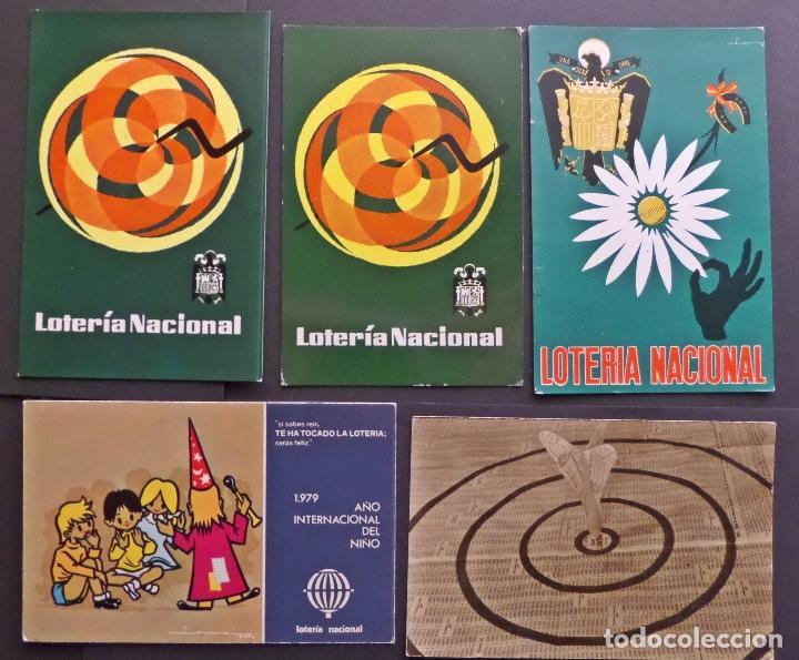 Postales: Colección de 15 postales de Lotería Nacional - Foto 3 - 97242255