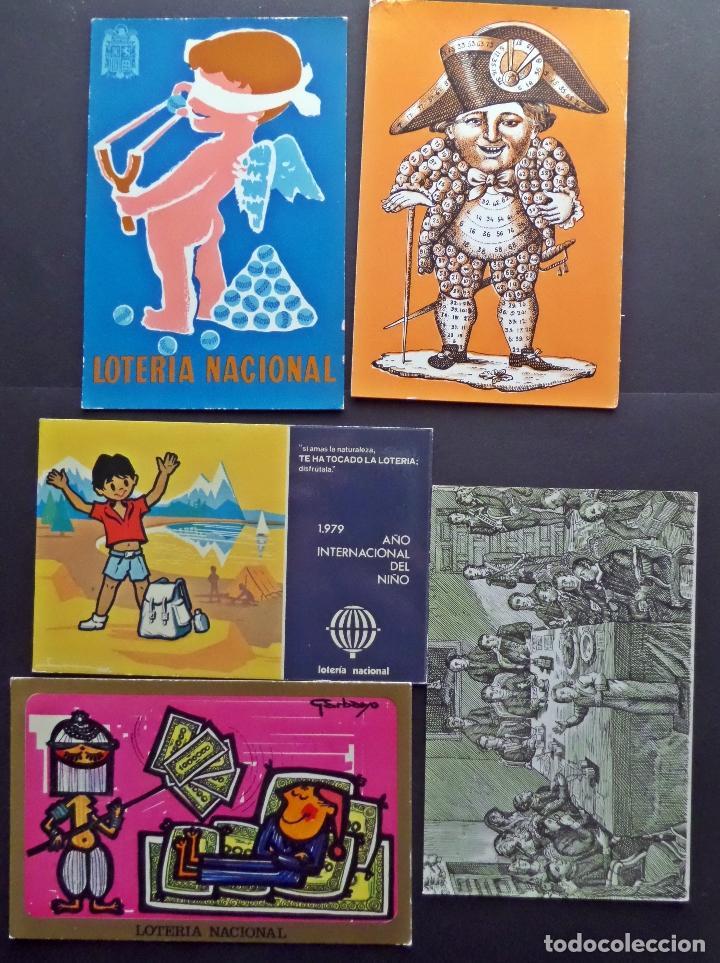 Postales: Colección de 15 postales de Lotería Nacional - Foto 4 - 97242255