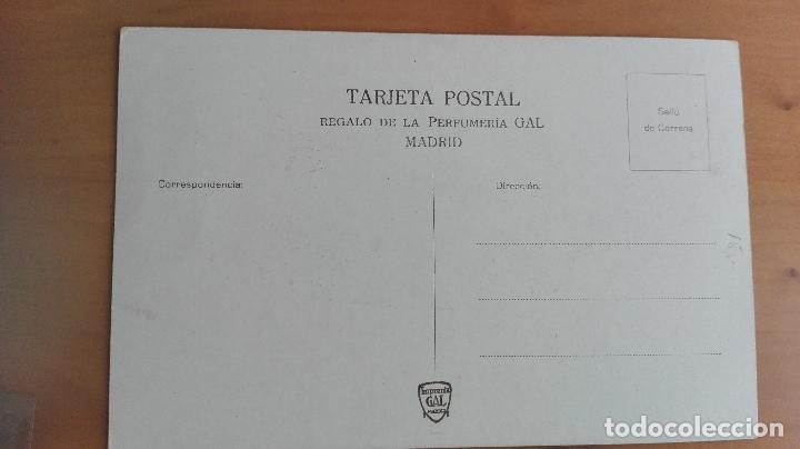 Postales: POSTAL PUBLICITARIA, JABON HENO DE PRAVIA, VIZCAYA Nº 48 PAIS VASCO, BILBAO, TIPOS VASCOS - Foto 2 - 97826796