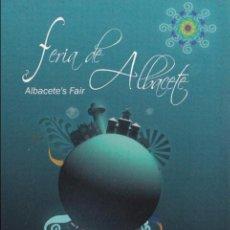 Postales: POSTAL PUBLICITARIA FERIA DE ALBACETE, 2009. Lote 97998755