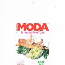 Postales: POSTAL ANTIGUA PUBLICIDAD CIRCULADA PRENATAL REVISTA MODA MINIMODA. Lote 98157847