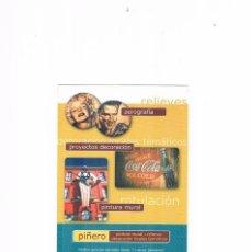 Postales: POSTAL ANTIGUA PUBLICIDAD SIN CIRCULAR PIÑERO PINTURA MURAL RELIEVE DECORACION LOCALES TEMATICOS. Lote 98159299