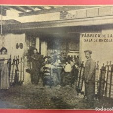Postales: FABRICA DE LÁPICES E. VERGARA. JEREZ. POSTAL SIN CIRCULAR. PARCIALMENTE RECORTADA. Lote 102740411