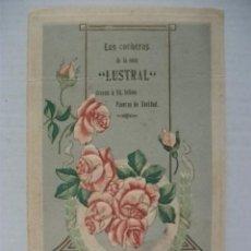 Postales - TARJETA FELICITACION DE NAVIDAD LOS COCHEROS DE LA CASA LUSTRAL - 100662059