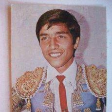 Postales: POSTAL PUBLICITARIA DEL TORERO EMILIO MUÑOZ.. Lote 102001179