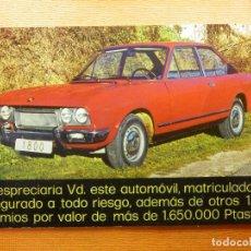 Postales: POSTAL - ESPAÑA - PUBLICITARIA - ALVI, I. G. - 1973 - SEAT 1800 -. Lote 102361683