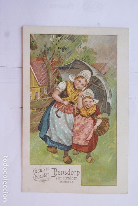 POSTAL PUBLICIDAD CHOCOLATE (Postales - Postales Temáticas - Publicitarias)
