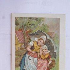 Postales: POSTAL PUBLICIDAD CHOCOLATE . Lote 102429019