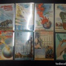 Postales: INSTITUTO NACIONAL DE ESTADISTICA - 35 DIFERENTES - SIN CIRCULAR Y DORSO SIVIDIDO. Lote 102881195