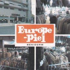 Postales: POSTAL EUROPE - PIEL. BENIDORM. ALICANTE (1983). Lote 103065887
