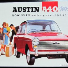 Cartes Postales: POSTAL POST CARD AUSTIN A40 MKII ROBERT OPIE 01EF35. Lote 103331091