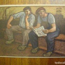 Postales: POSTAL PUBLICITARIA REVISTA EL DILUVIO - ILUSTRADA POR OPISSO - SIN CIRCULAR - PERFECTO ESTADO. Lote 103883479