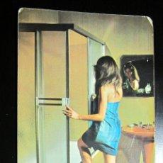 Postales: POSTAL POST CARD PUBLICIDAD SANEAMIENTOS MARIN CALLE AZOQUE ZARAGOZA KONFORT LUX. Lote 104408039