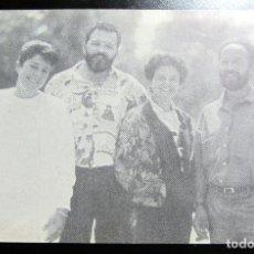 Postales: POSTAL POST CARD PUBLICIDAD POLITICA CONVERGENCIA ALTERNATIVA DE ARAGON IZQUIERDA UNIDA. Lote 104408471