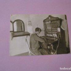 Postales: POSTAL PUBLICIDAD TELEFÓNICAS. 1924-1974 TELEFÓNICAS. ED. FOURNIER.. Lote 104743599