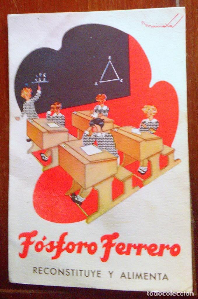 Postales: Tarjetas postales Fósforo Ferrero. Serie 1 - nº 1 a 4. Y serie 2 - nº 1, 2 y 4. Años 40 - Foto 4 - 104775279