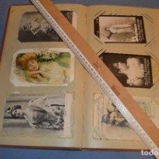 Postales: OBSEQUIO CANTINA AMERICANA -- ÁLBUM CON TARJETAS POSTALES Y ESTAMPAS COMERCIALES -- PRINCIPIOS 1900. Lote 104820643