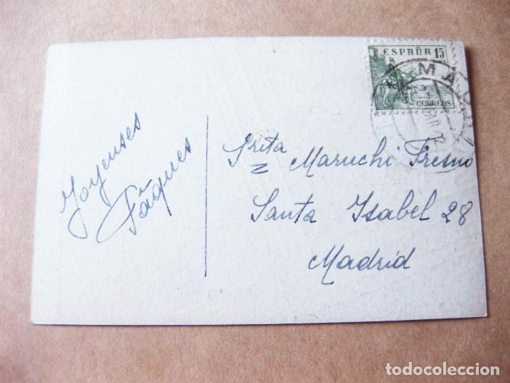 Postales: POSTAL DE MENOR TAMAÑO DEL INSTITUTO DE BELLEZA MANÓN. MADRID BARCELONA - Foto 2 - 105184291