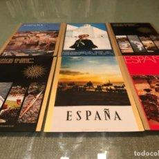 Postales: LOTE POSTALES ANTIGUAS CARTELES TURÍSTICOS ESPAÑA. Lote 105850103