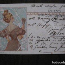 Postales: KELLEMES KARACSONYI UNNEPEKET - POSTAL PUBLICITARIA ANTIGUA- VER FOTOS - (51.158). Lote 105935215