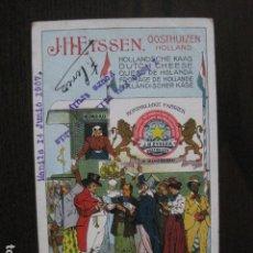 Postales: QUESO HOLANDA-J. HEYSSEN - 1907 - POSTAL PUBLICITARIA ANTIGUA- VER FOTOS - (51.159). Lote 105935315