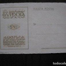 Postales: PERFUMES GUIDOR -PARIS BARCELONA - POSTAL PUBLICITARIA ANTIGUA - VER FOTOS - (51.170). Lote 105936927