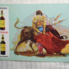 Postales: POSTAL PUBLICITARIA BODEGAS OSBORNE. PUERTO DE SANTA MARIA. Lote 105980415