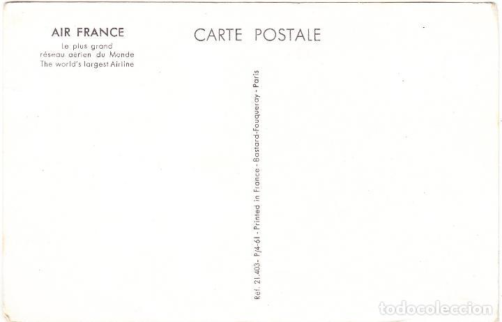 Postales: POSTAL PUBLICIDAD AIR FRANCE - URSS - Foto 2 - 107093067