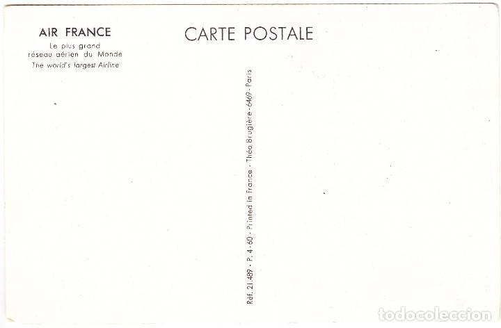 Postales: POSTAL PUBLICIDAD AIR FRANCE - GRECE GRECIA - Foto 2 - 107093123