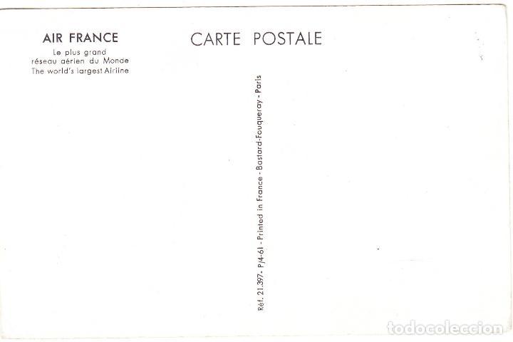 Postales: POSTAL PUBLICIDAD AIR FRANCE - COTE D'AZUR - Foto 2 - 107093151