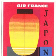 Postales: POSTAL PUBLICIDAD AIR FRANCE - JAPON. Lote 107093199