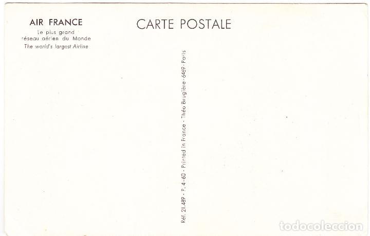 Postales: POSTAL PUBLICIDAD AIR FRANCE - JAPON - Foto 2 - 107093199