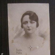 Postales: COMPAÑIA MELIA CIBRIAN -POSTAL PUBLICITARIA -VER REVERSO -(51.257). Lote 107683011