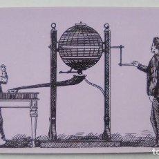 Postales: POSTAL BOMBO MANUAL DE PREMIOS. GRABADO DE 1893. DIRECCION GENERAL DE TRIBUTOS ESPECIALES. Lote 107729871