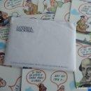 Postales: LOTERÍA NACIONAL. COLECCIÓN DE TARJETAS POSTALES. SERIE J. DIBUJOS DE SUMER.. Lote 108216063