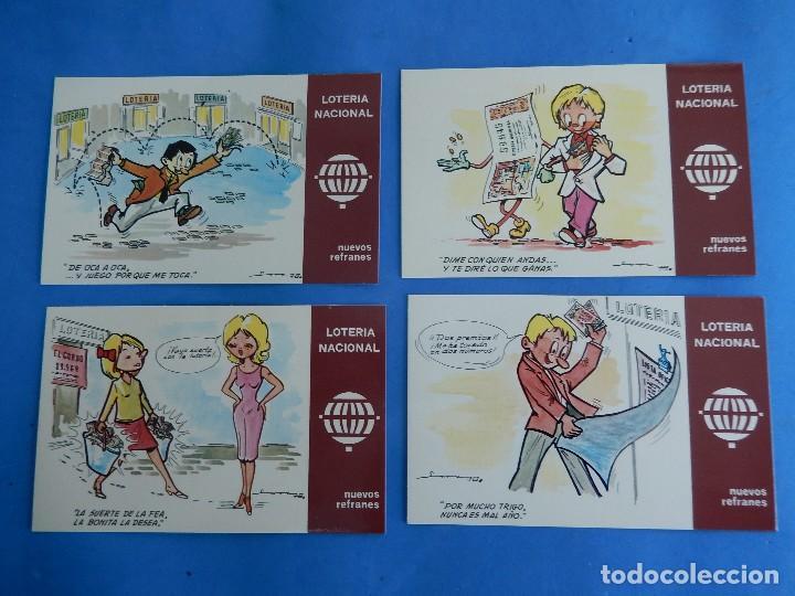 Postales: Lotería Nacional. Colección de tarjetas postales. Serie K. Dibujos de E. de Lara. - Foto 4 - 108216579