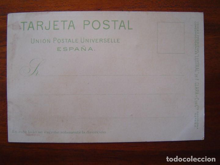 Postales: 10 POSTALES de SIFON LUSTRAL ( SERIE COMPLETA ) 1902 ILUSTRADAS POR VALLHONRAT - sin circular - Foto 6 - 108451355