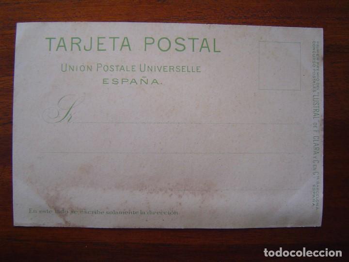 Postales: 10 POSTALES de SIFON LUSTRAL ( SERIE COMPLETA ) 1902 ILUSTRADAS POR VALLHONRAT - sin circular - Foto 8 - 108451355