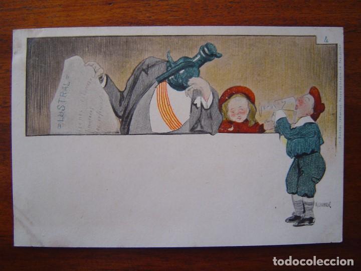 Postales: 10 POSTALES de SIFON LUSTRAL ( SERIE COMPLETA ) 1902 ILUSTRADAS POR VALLHONRAT - sin circular - Foto 9 - 108451355