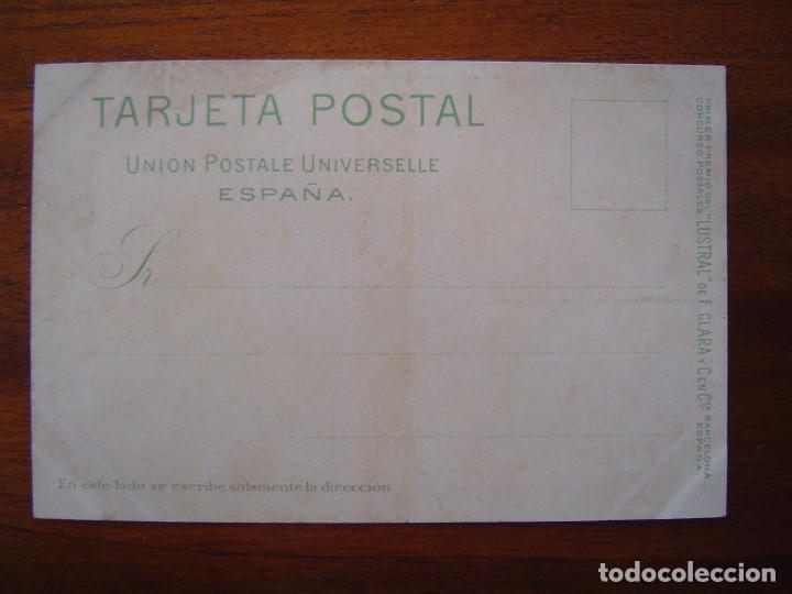 Postales: 10 POSTALES de SIFON LUSTRAL ( SERIE COMPLETA ) 1902 ILUSTRADAS POR VALLHONRAT - sin circular - Foto 12 - 108451355