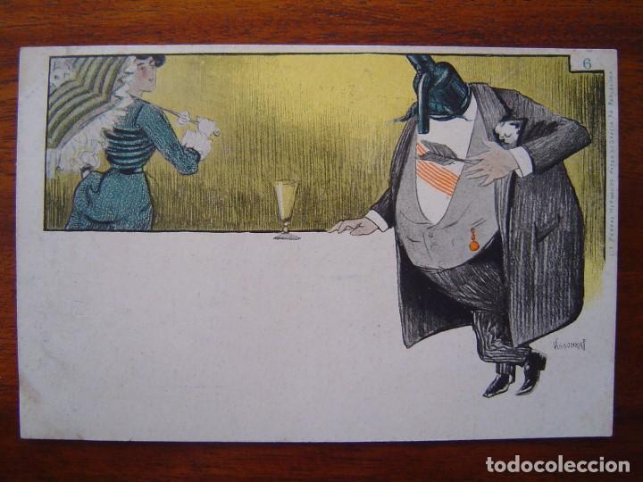 Postales: 10 POSTALES de SIFON LUSTRAL ( SERIE COMPLETA ) 1902 ILUSTRADAS POR VALLHONRAT - sin circular - Foto 13 - 108451355