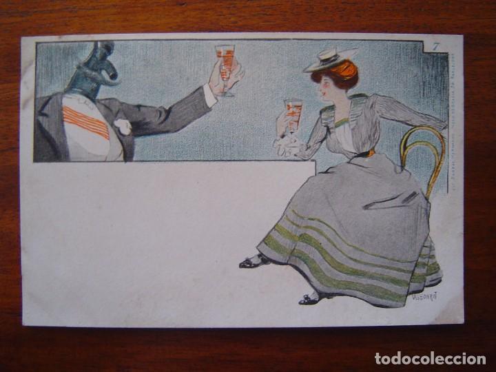 Postales: 10 POSTALES de SIFON LUSTRAL ( SERIE COMPLETA ) 1902 ILUSTRADAS POR VALLHONRAT - sin circular - Foto 15 - 108451355