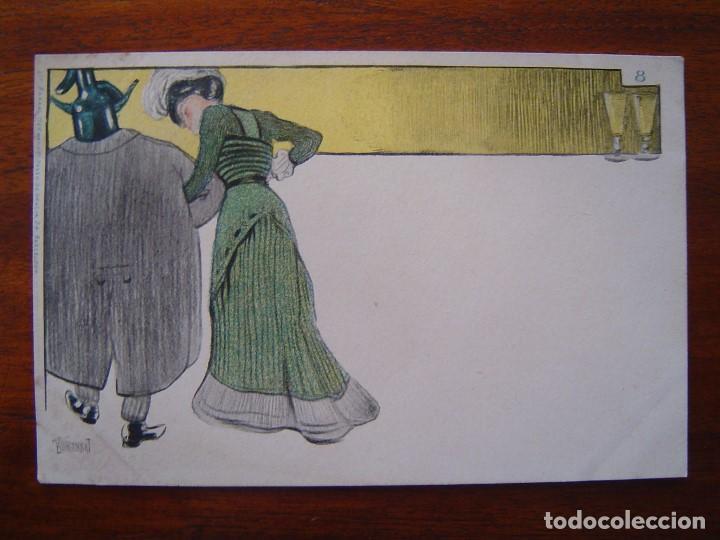 Postales: 10 POSTALES de SIFON LUSTRAL ( SERIE COMPLETA ) 1902 ILUSTRADAS POR VALLHONRAT - sin circular - Foto 17 - 108451355