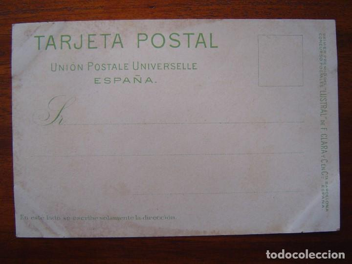 Postales: 10 POSTALES de SIFON LUSTRAL ( SERIE COMPLETA ) 1902 ILUSTRADAS POR VALLHONRAT - sin circular - Foto 22 - 108451355