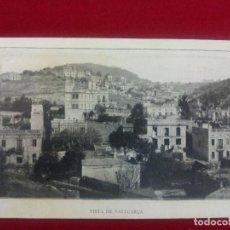 Postales: P-25.- POSTAL DE BARCELONA - VISTA DE VALLCARCA.- UNIO Y FOMENT DE VALLCARCA , FESTA MAJOR 1903. Lote 109241467