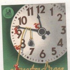 Postales: PUBLICIDAD FARMACIA LENTADREN LABORATORIOS ALGO MADRID BARCELONA. Lote 194004045