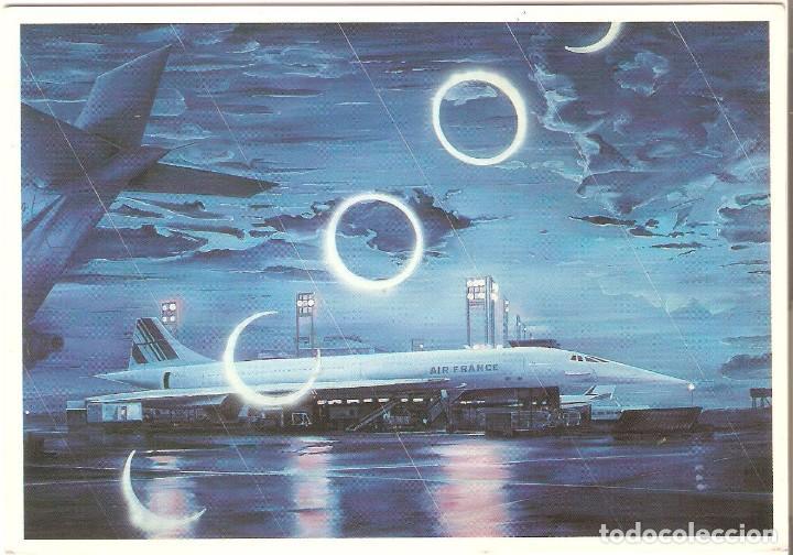 PUBLICITARIA, AIR FRANCE NR.4 COLLECTION AIR FRANCE, SIN CIRCULAR (Postales - Postales Temáticas - Publicitarias)
