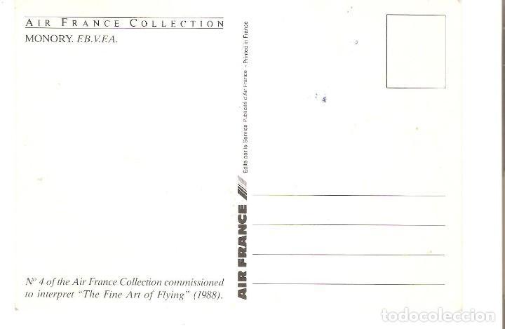 Postales: PUBLICITARIA, AIR FRANCE NR.4 COLLECTION AIR FRANCE, SIN CIRCULAR - Foto 2 - 110068035